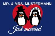 Fußmatte Brautpaar