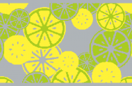 Zitronen 75x50 cm