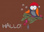 Weihnachtseule