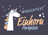 Einhorn Parkplatz