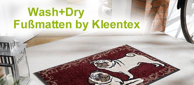 wash and dry fu matten von kleentex designed. Black Bedroom Furniture Sets. Home Design Ideas