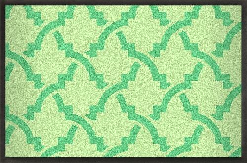 Fußmatten Gestaltbare Sommermatte mit Ornamentdruck