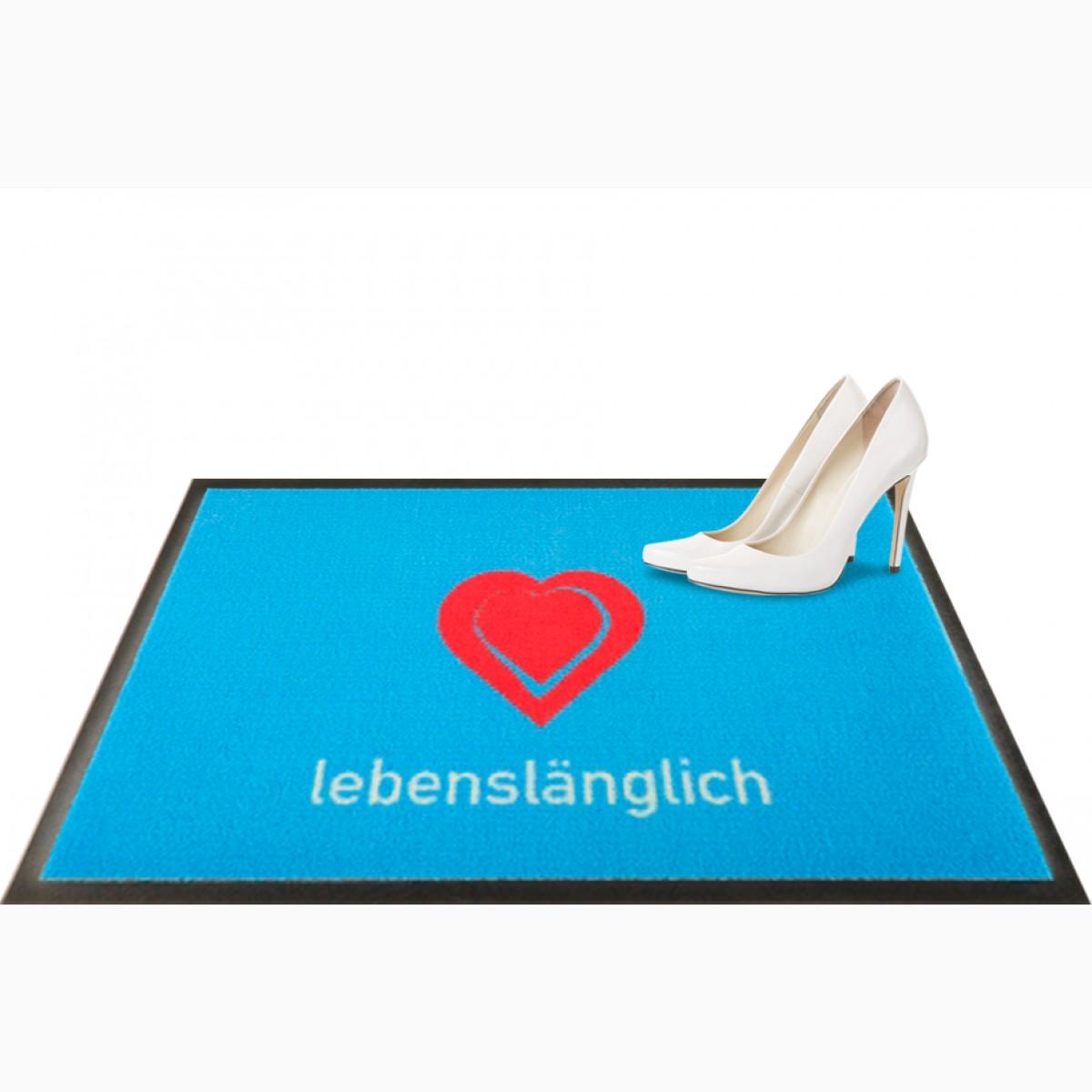 Fußmatte lebenslänglich Situation