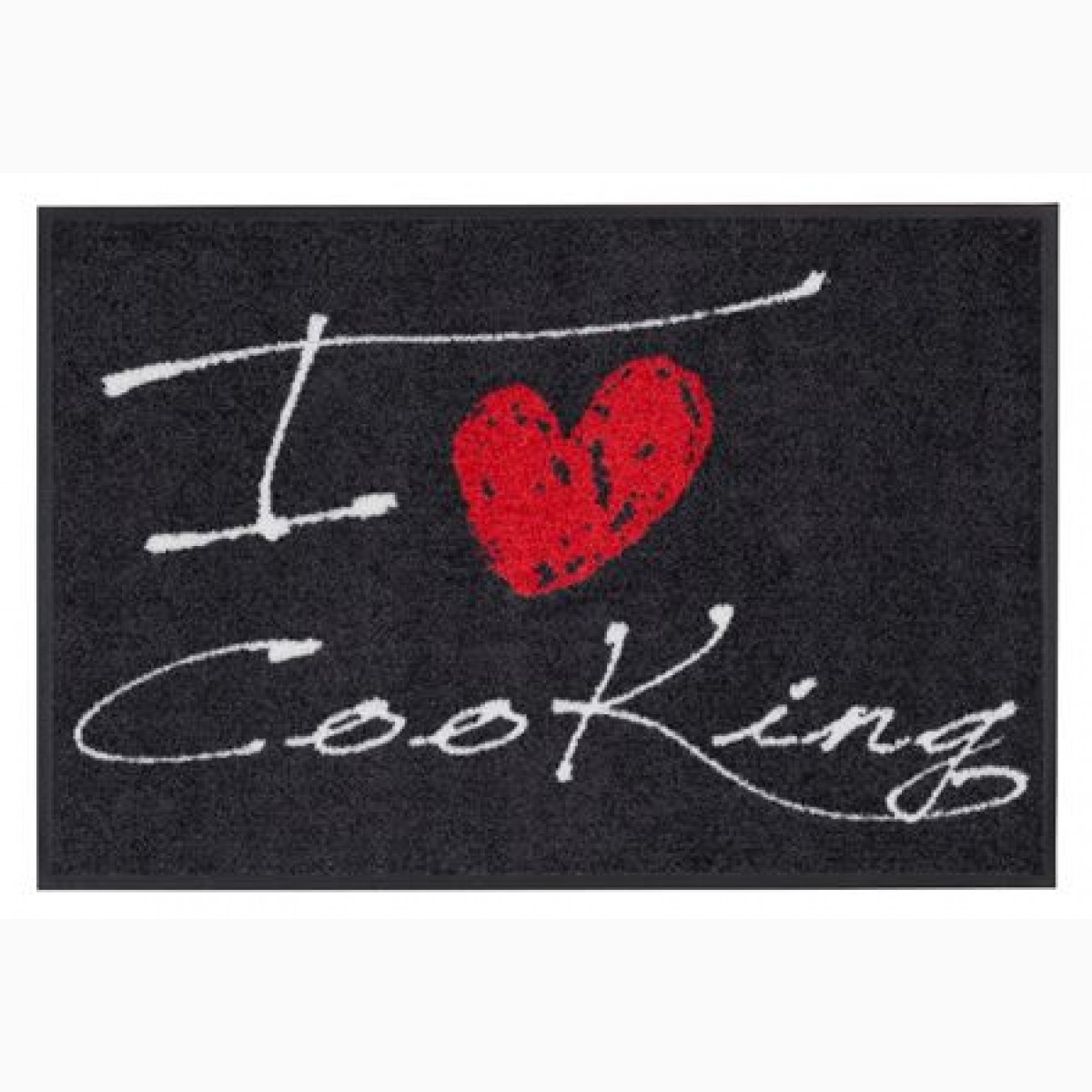 Fußmatte I Love Cooking Heart