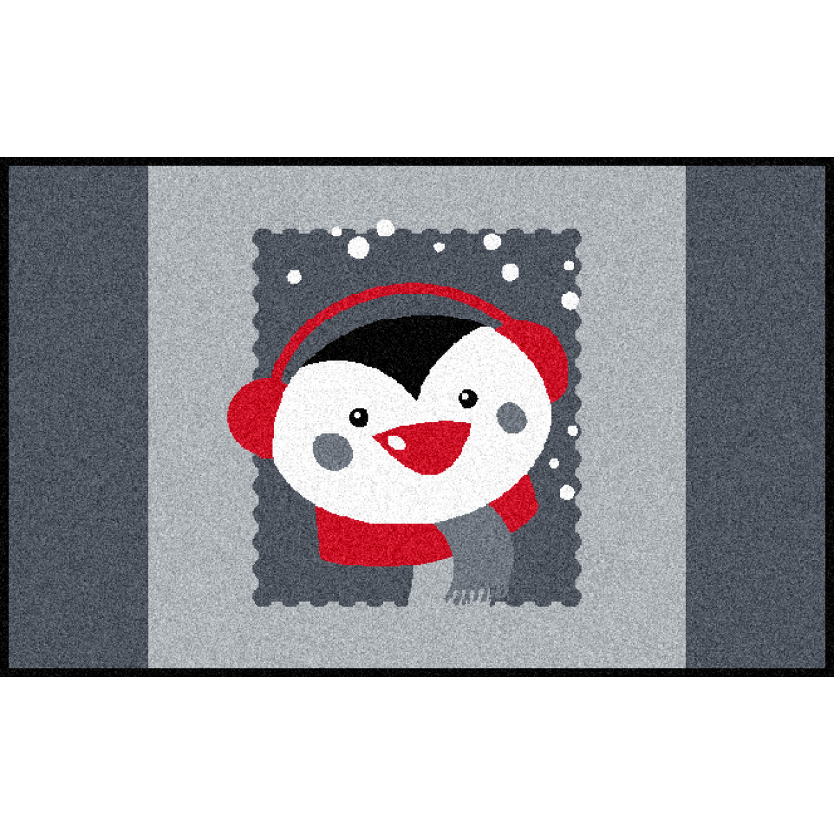 Fußmatte Pinguin Floroptik