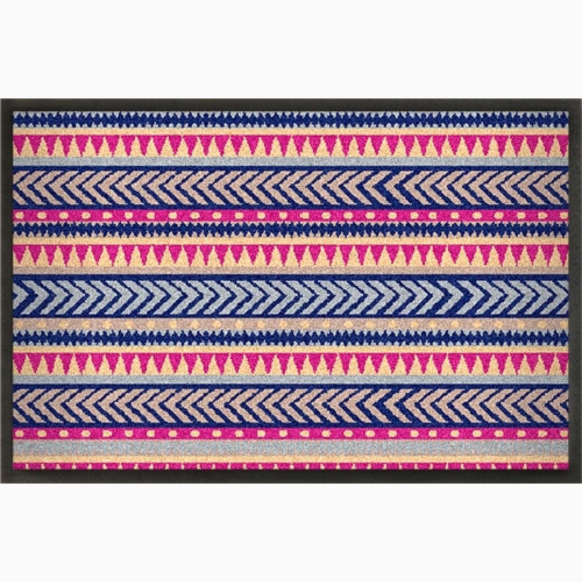 Fußmatte »Ethno« bunt bedruckt, gestalten