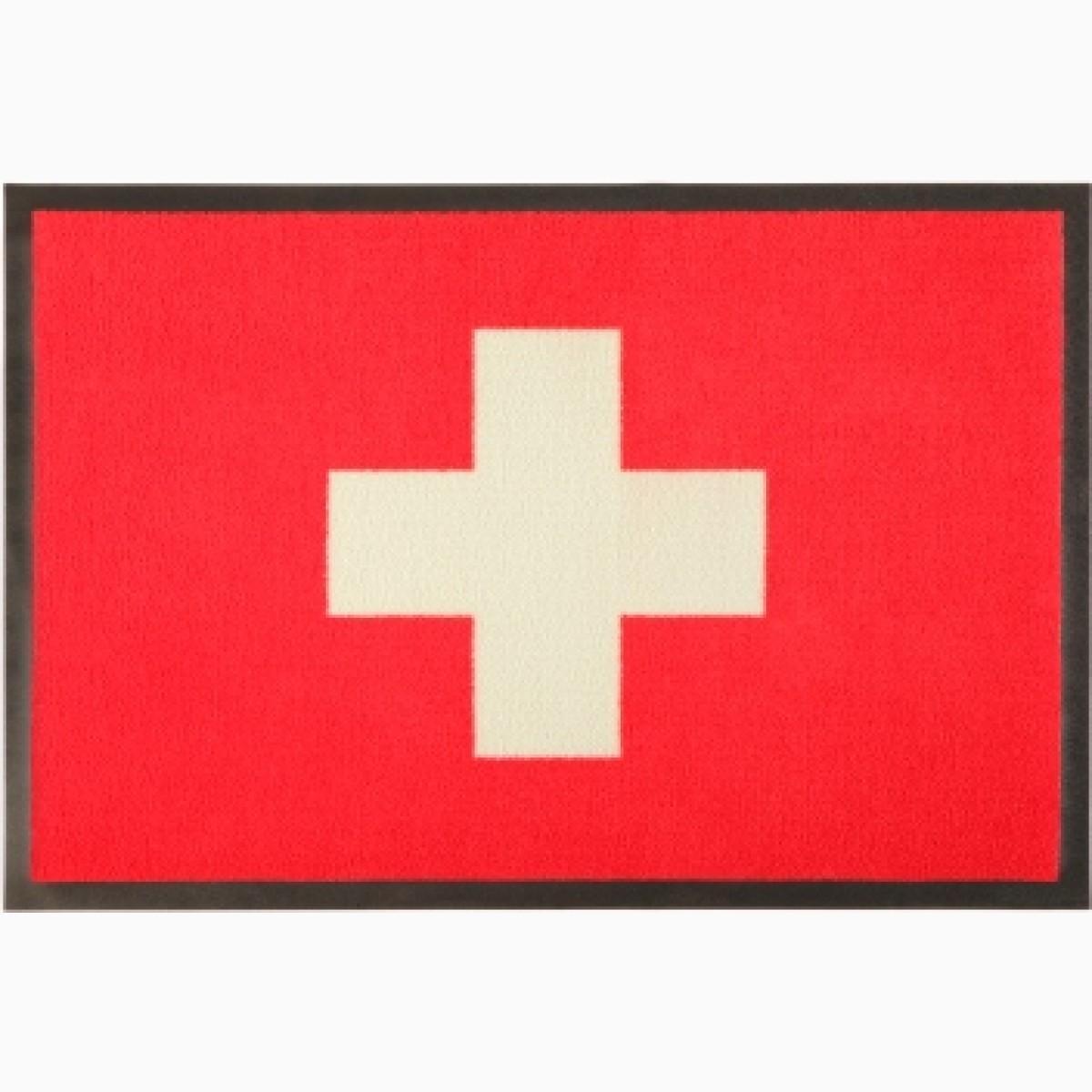 Fußmatte Schweiz