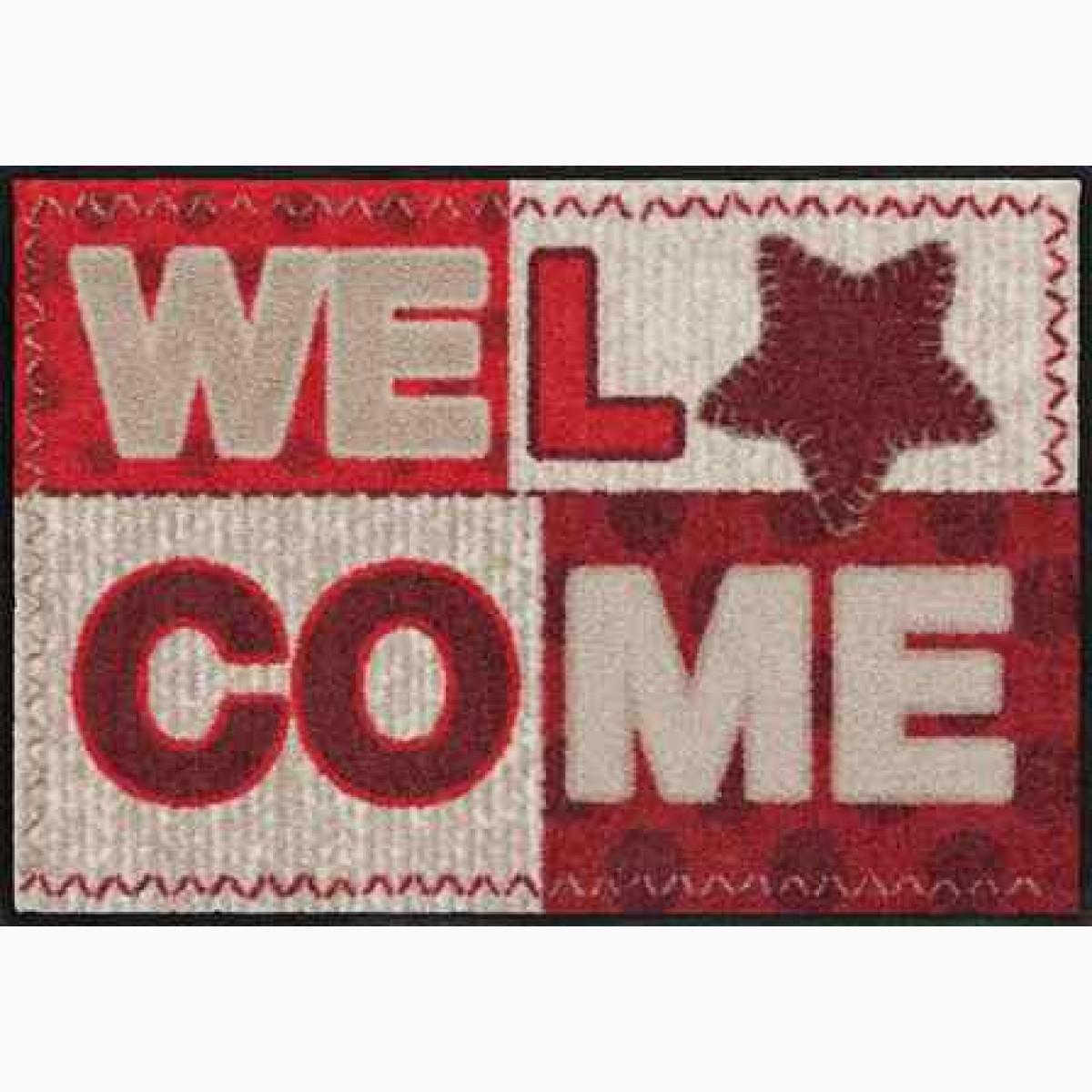 Fußmatte Welcome Star