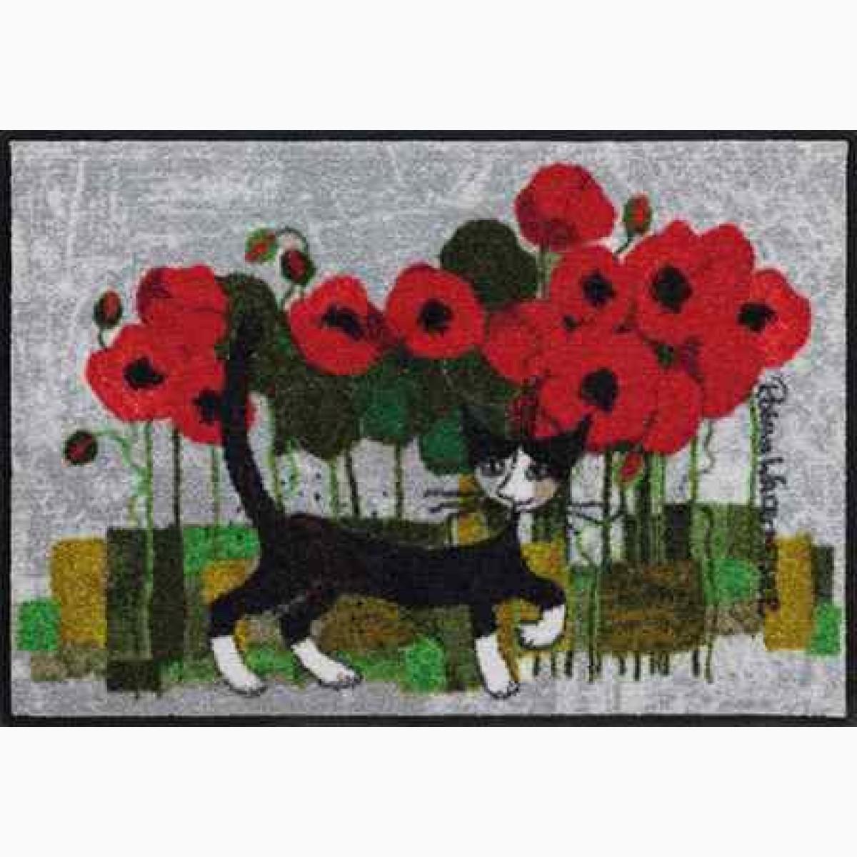 Fußmatte Poppywalk
