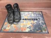 Bundeswehr Flecktarn Fußmatte