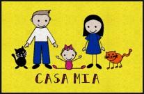 Fußmatte Casa Mia