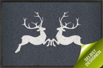 Fußmatte Hirschpaar