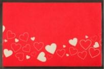 Fußmatte Rot wie die Liebe 75x50 cm