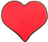 Fußmatte Herz ca 75 * 85 cm