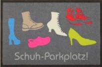 Fußmatte Schuhparkplatz 75 x 50