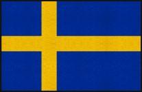 Fußmatte Schweden
