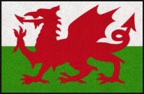 Fußmatte Wales