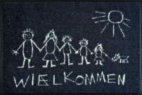 Fußmatte Wielkommen