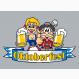 Fußmatte Oktoberfestbier Druckdatei