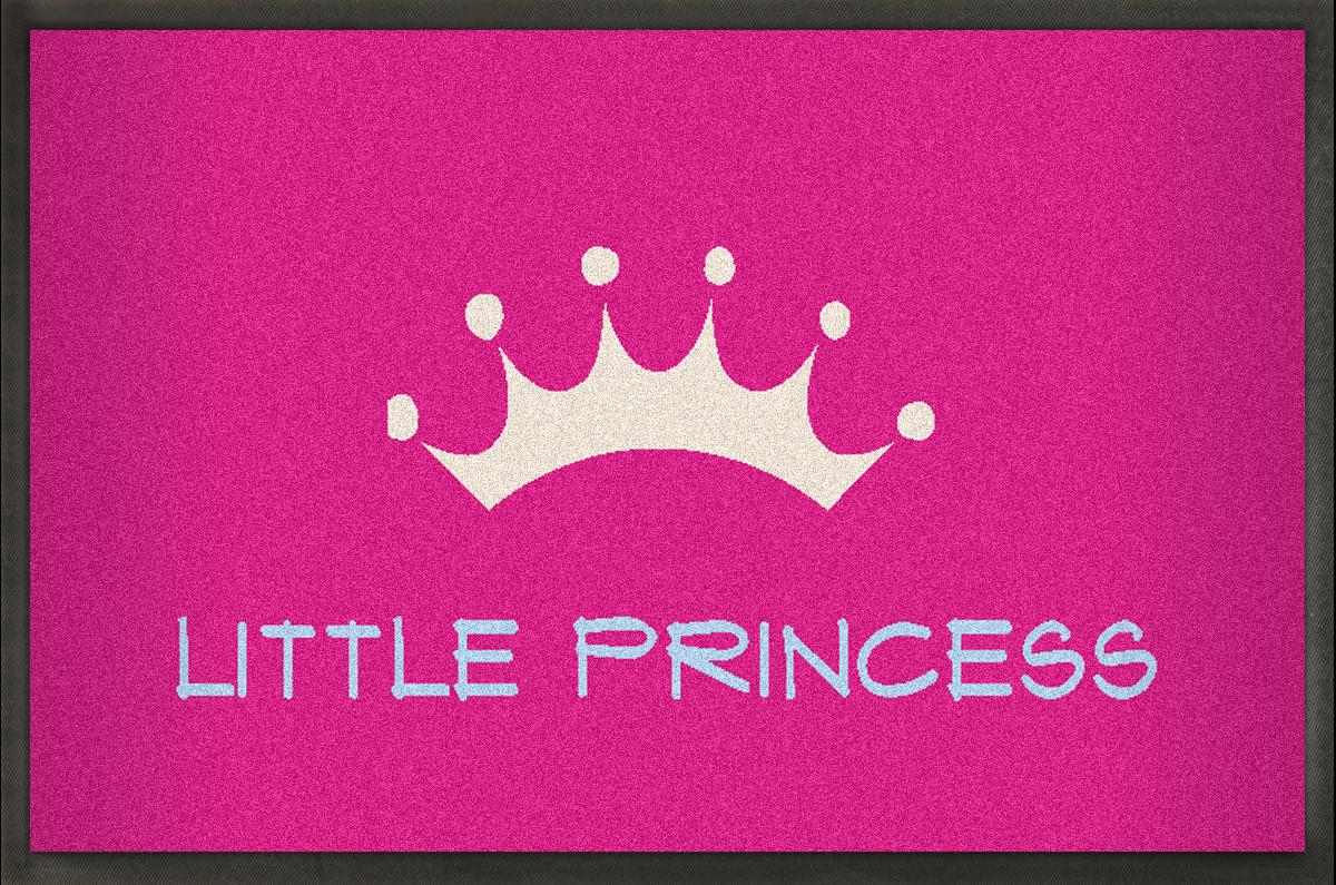 MyMat.de Fußmatte Little Princess pink