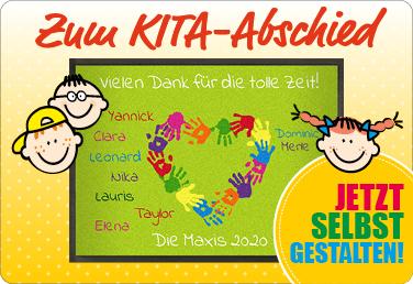 Fußmatte zum KITA-Abschied - Jetzt gestalten!