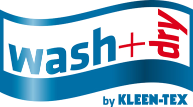 Logo wash+dry