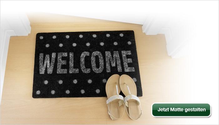 schmutzfangmatte fussmatte bedrucken gestalten und kaufen. Black Bedroom Furniture Sets. Home Design Ideas